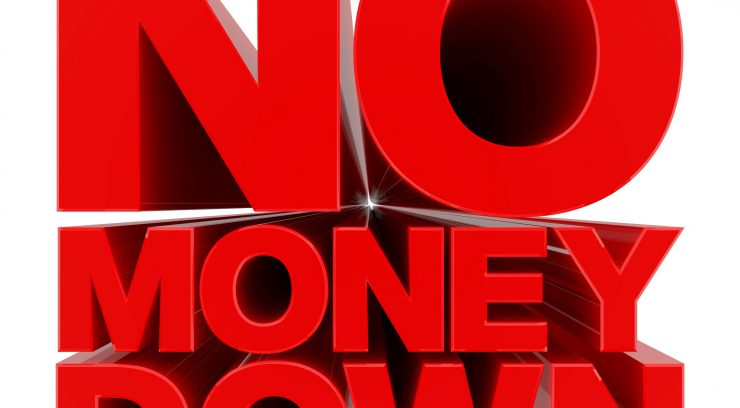 no money down image