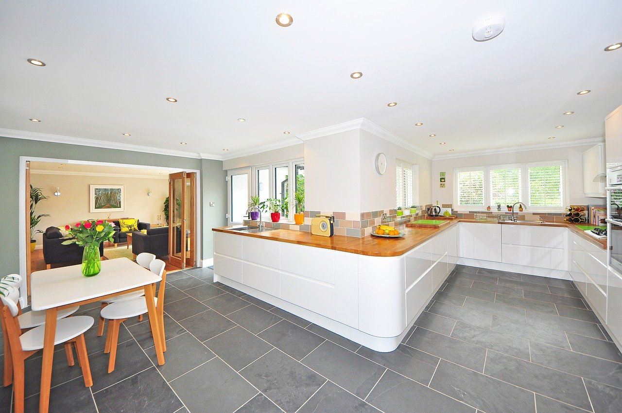 interior image of a kitchen