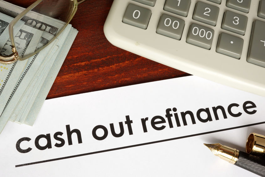 cash out refinancing image